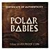 Tuvalu Silver Polar Babies 2017 - Arctic Fox - 1/2 oz thumbnail