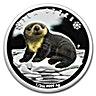 Tuvalu Silver Polar Babies 2017 - Sea Otter - 1/2 oz