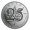 Canadian Silver Maple 2013 - 25th Anniversary special edition -  1 oz