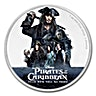 Niue Island 2017  Silver Disney Pirates Of The Caribbean - Dead men tell no tales - 1 oz