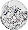 Niue 2016 Silver Great Migrations - Arctic Terns - 1 oz