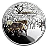 Niue 2017 Silver Great Migrations - Caribou - 1 oz