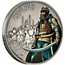Niue 2017 Silver Warriors of History - Ayyubids - Antique Finish - 1 oz