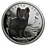 Tuvalu Silver Polar Babies 2017 - Arctic Fox - 1/2 oz