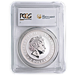 Australian Silver Stock Horse 2014 - PCGS MS 69 - Circulated in Good Condition - 1 oz thumbnail