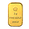 Logam Mulia Gold Bar - 2 g