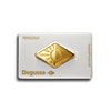 Degussa Gold Bar - Diamond Design - 1 oz