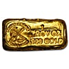 Prospectors Gold and Gems Gold Bar - Hand Poured - 1 oz