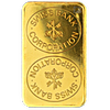 Swiss Bank Corporation Gold Bars (Circulated in good condition)