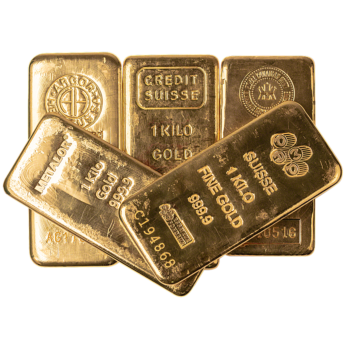 1 Kg In Gold Bars For The Spot Price Of Gold Lbma Brands