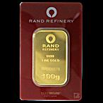 Rand Refinery Gold Bar - 100 g thumbnail