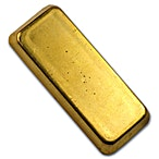 Degussa Gold Bar - Circulated in good condition - Stamped - 100 g thumbnail