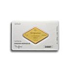 Degussa Gold Bar - Diamond Design - 1 oz   thumbnail