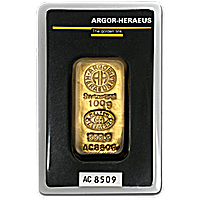 Argor-Heraeus Gold Bars