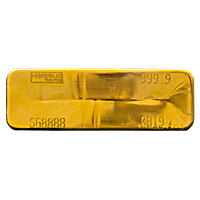 Heraeus Gold Bars - 400 oz