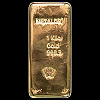 Metalor Gold Bar - 1 kg