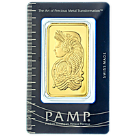 PAMP Gold Bars (Circulated in good condition)