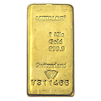 Metalor Gold Bar - 1 kg