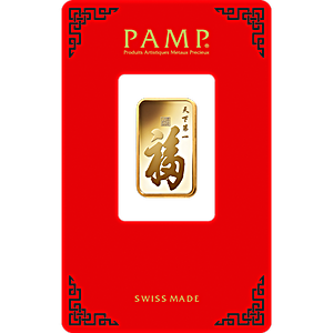 Pamp Gold Bar True Happiness 10 G Suisse Pamp In Sg