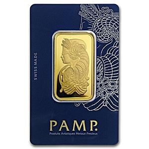 PAMP Gold Bar - 1 oz