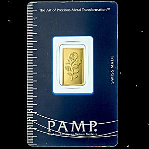 PAMP Gold Bar - 2.5 g