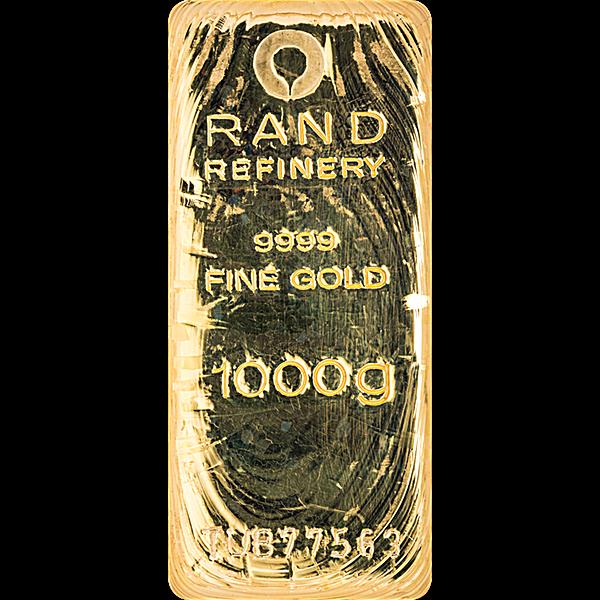 Rand Refinery Gold Bar - 1 kg