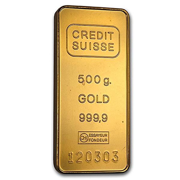 Credit Suisse Gold Bar - 500 g