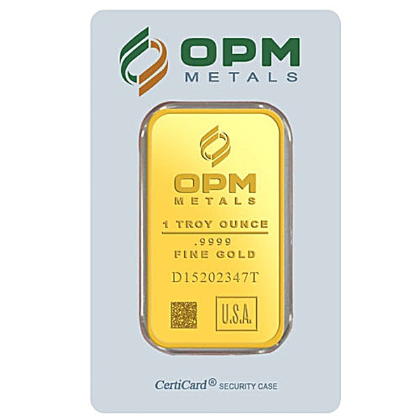 OPM Gold Bar - 1 oz