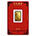 PAMP Lunar Series 2019 Gold Bar - Year of the Pig - 5 g thumbnail