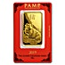 PAMP Lunar Series 2019 Gold Bar - Year of the Pig - 100 g thumbnail