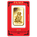 PAMP Lunar Series 2018 Gold Bar - Year of the Dog - 100 g thumbnail