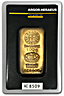 Argor-Heraeus Gold Cast Bar - 100 gram