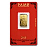 PAMP Lunar Series Gold Bar (Circulated)