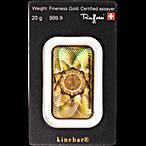 Argor-Heraeus Gold KineBar - 20 g thumbnail