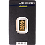 Argor-Heraeus Gold KineBar - 2 g thumbnail