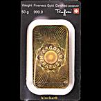 Argor-Heraeus Gold KineBar - 50 g thumbnail