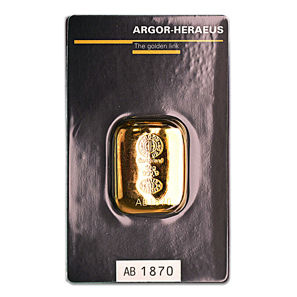 Argor-Heraeus Gold Cast Bar - 50 g