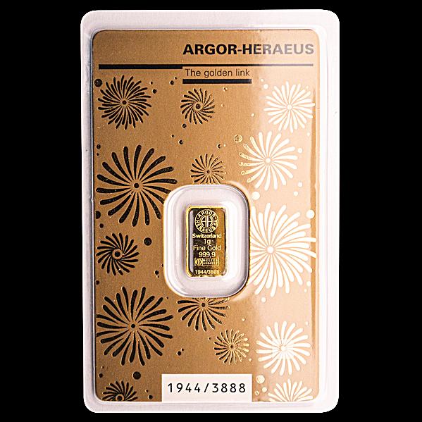 Argor-Heraeus Gold Bar - Year of the Rat - 1 g