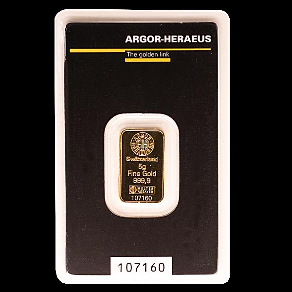 Argor-Heraeus Gold KineBar - 5 g
