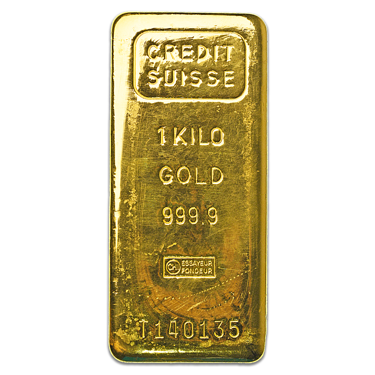 Credit Suisse Gold Bar 1 Kg Best