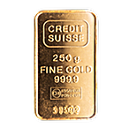 Credit Suisse Gold Bar - 250 g thumbnail