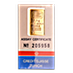 Credit Suisse Gold Bar - Circulated in good condition - 2.5 g thumbnail