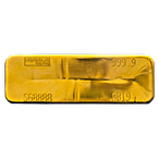 Heraeus Gold Bar - 400 oz  thumbnail