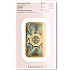 Heraeus Kinebar Gold Bar - 1 oz thumbnail