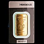 Heraeus Gold Bar - 1 oz thumbnail
