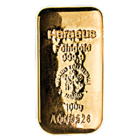 Heraeus Gold Cast Bar - 100 g