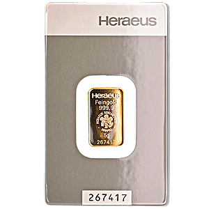 Heraeus Gold Bar - 5 g