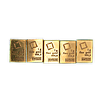 Gold Bar - Various Brands - LBMA - 1 g thumbnail
