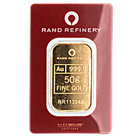 Rand Refinery Gold Bars