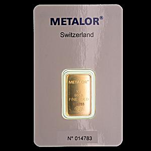 Gold Bar - Various Brands - LBMA - 10 g